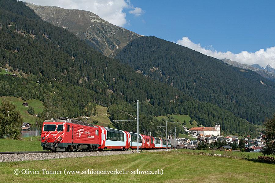 HGe 4/4'' 108 mit Glacier Express nach Zermatt