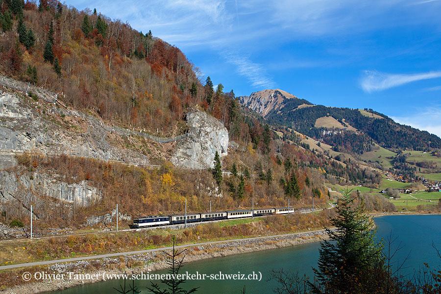 GDe 4/4 6004 auf dem Weg nach Montreux