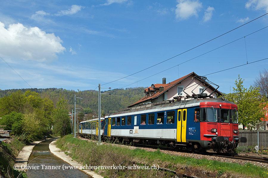 RBe 540 205 als Regionalzug Balsthal – Oensingen