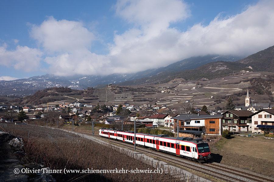 Domino mit RBDe 560 414 als Regio Monthey – Sion – Brig