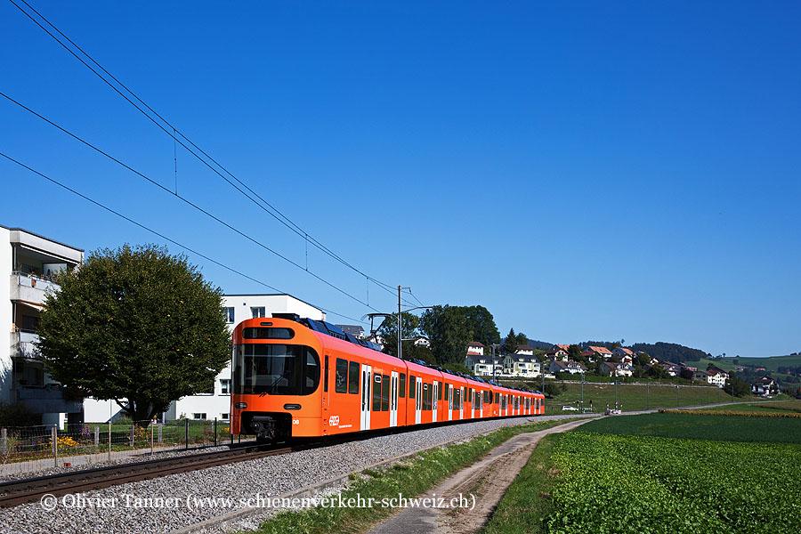 Be 4/10 08 und Be 4/10 03 auf dem Weg nach Bern