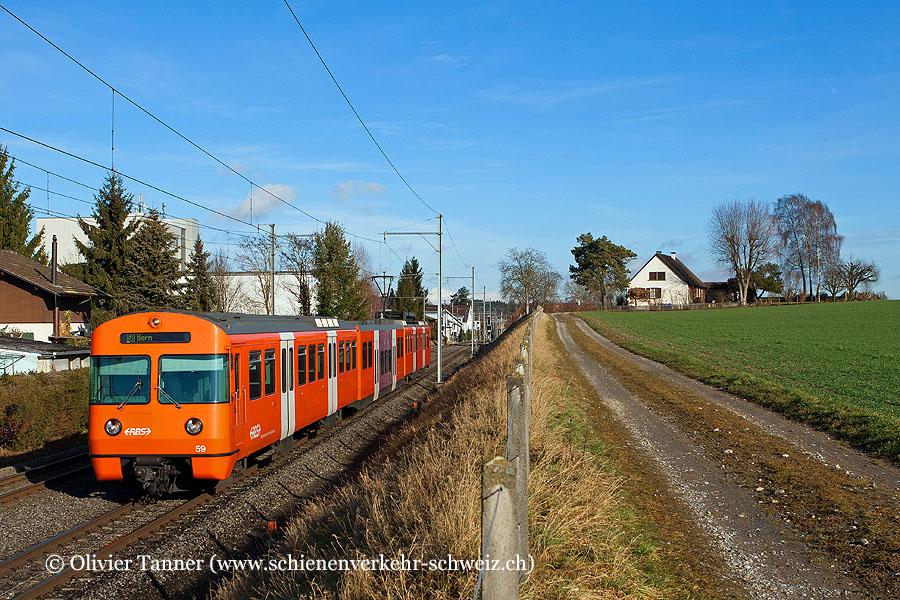 Be 4/12 59 auf dem Weg nach Bern