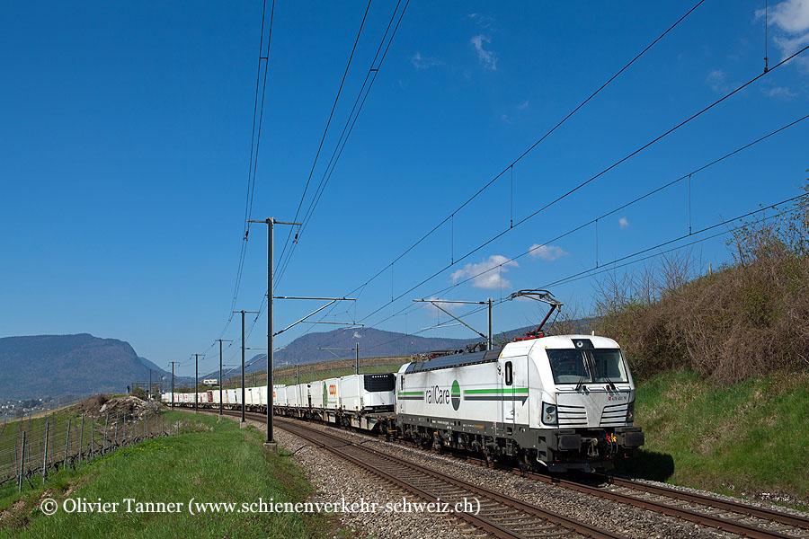 Rem 476 451 mit dem morgendlichen Güterzug von Chavornay nach Hunzenschwil