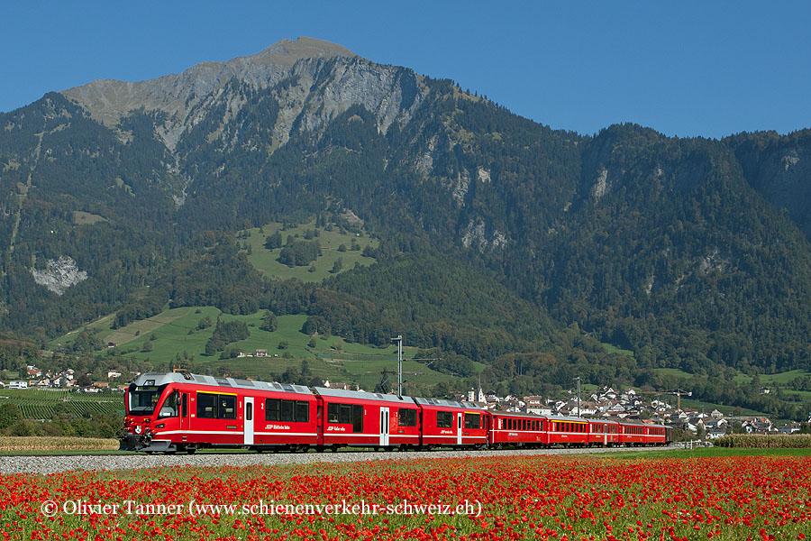 ABe 8/12 3507 mit RegioExpress Davos Platz – Landquart