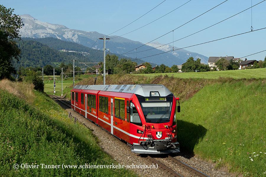 ABe 8/12 3509 als Regio Chur – Ilanz