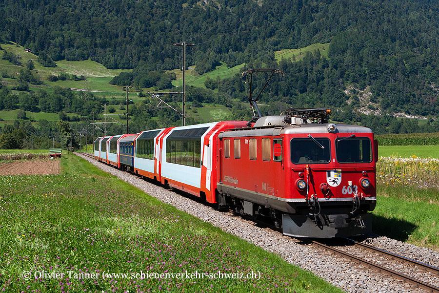 Ge 4/4' 603 mit Glacier Express