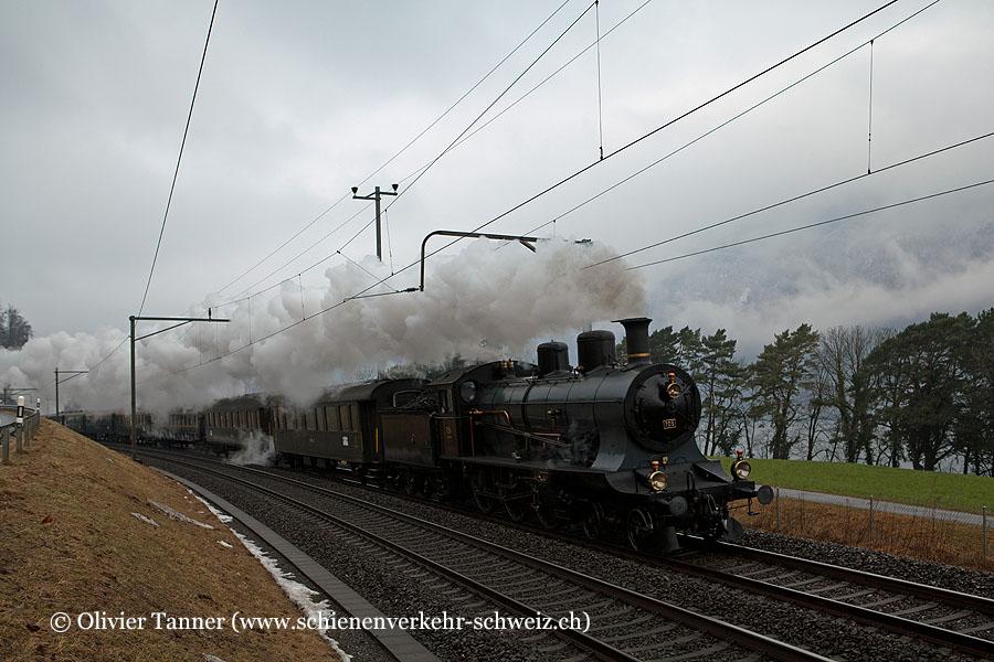 A 3/5 705 anlässlich der Säntisfahrt