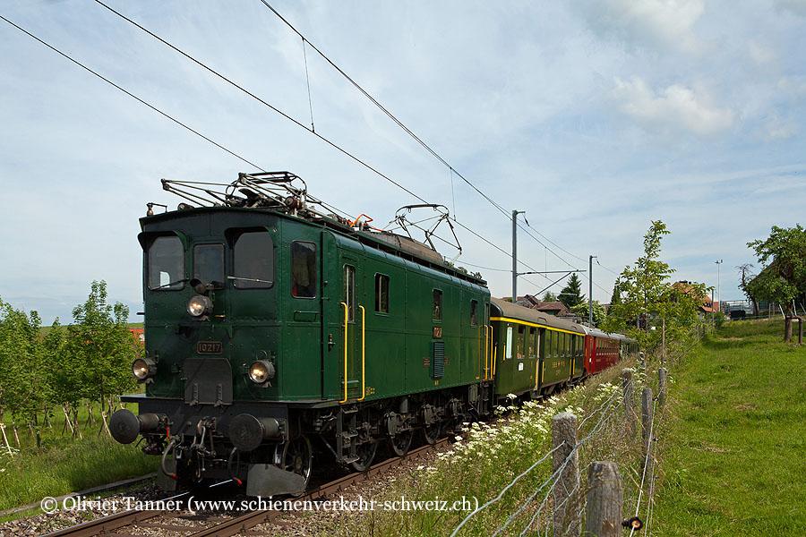 Ae 3/5 10217 anlässlich des ''Eisenbahnfest Konolfingen''