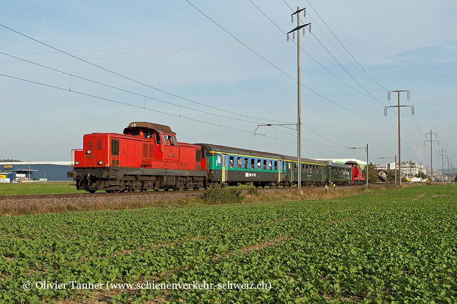 Bm 6/6 18508 und Bm 6/6 18509 mit dem Sonderzug ''Desperate Railtours''