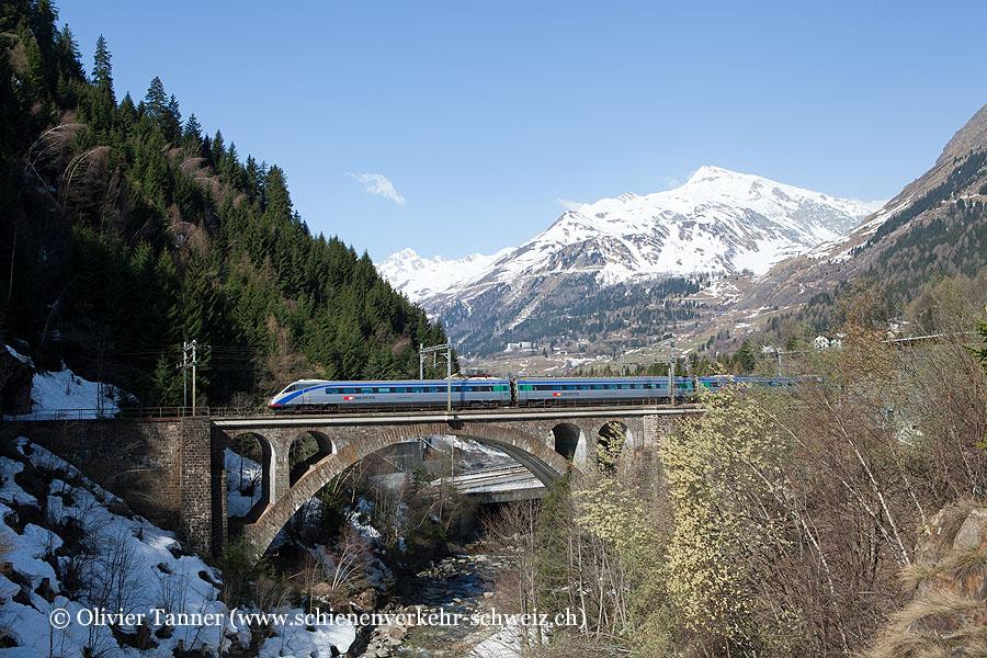 ETR 470 5 auf dem Weg nach Mailand
