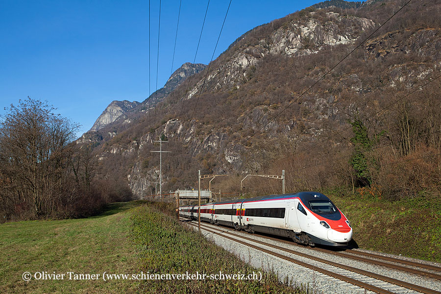 ETR 610 10 als EC Zürich – Milano
