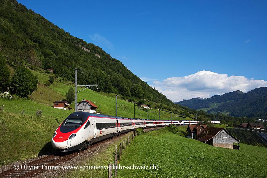 ETR 610 5 und ETR 610 10 als EC Zürich – Milano