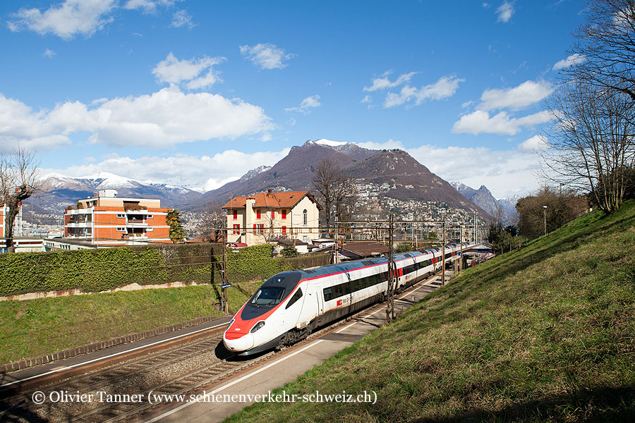 ETR 610 5 als EC Milano – Zürich