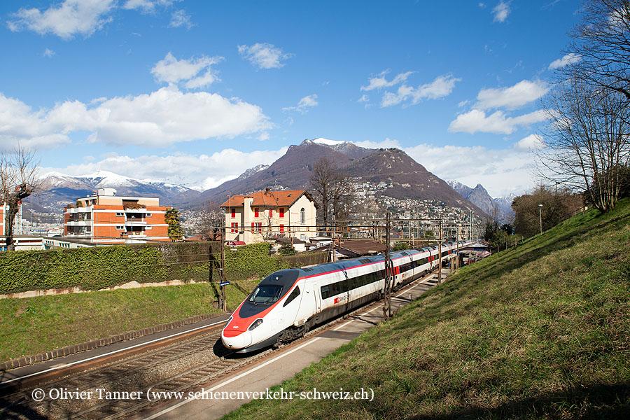 ETR 610 5 als EC Milano Centrale – Zürich