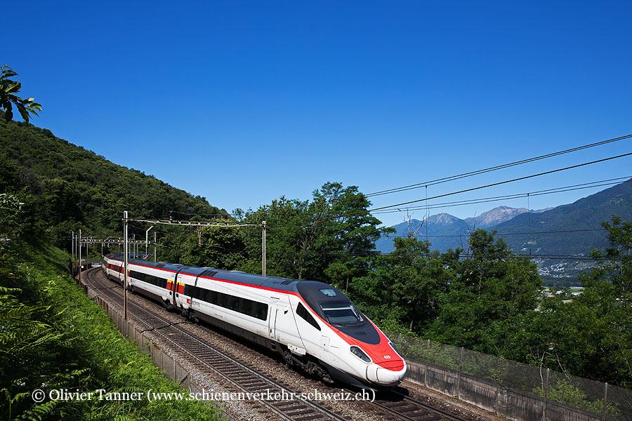 ETR 610 7 und ETR 610 6 als EC Milano Centrale – Zürich