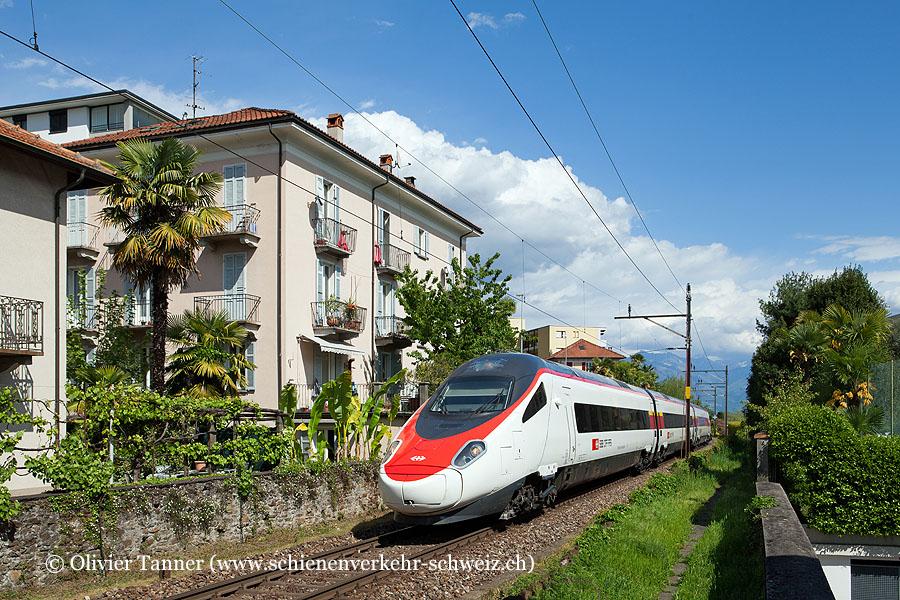 ETR 610 9 und ETR 610 11 als Oster-Extrazug nach Locarno