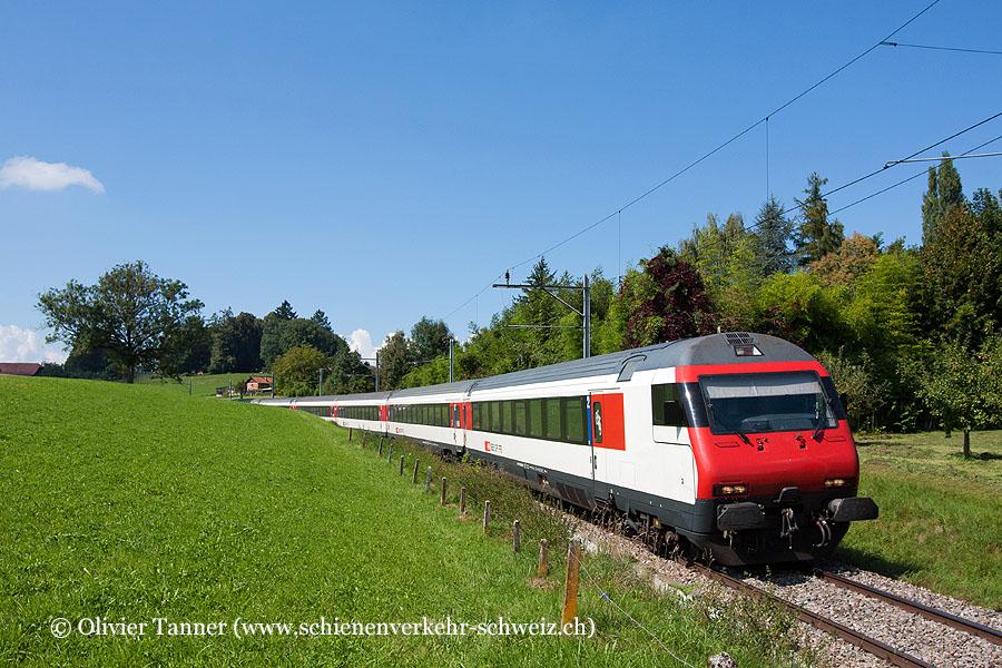 Einheitswagen IV Pendelzug als Extrazug Payerne – Fribourg anlässlich der Air14
