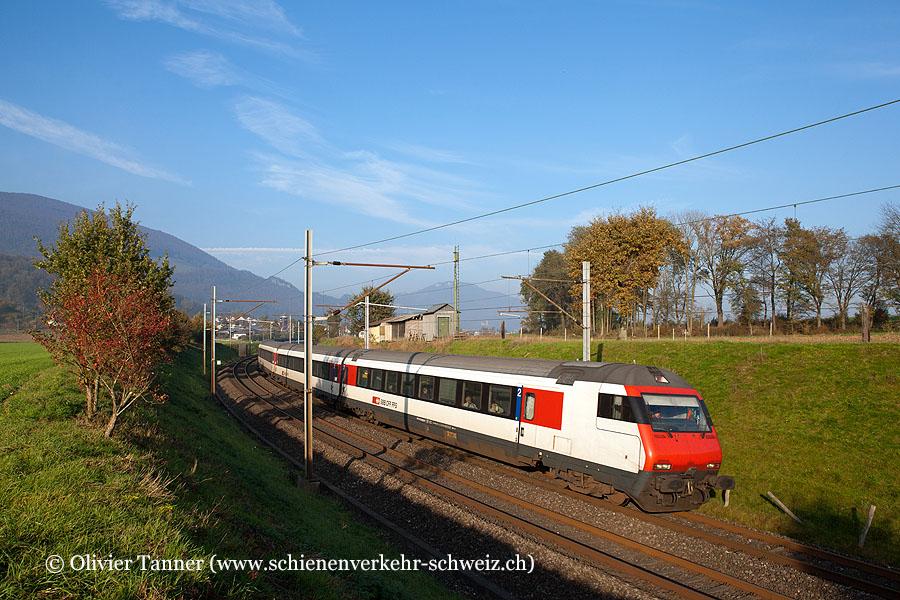 Einheitswagen IV Pendelzug als IR Konstanz – Zürich – Biel/Bienne