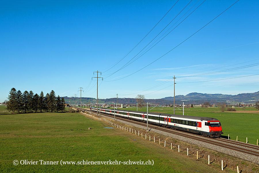 Einheitswagen IV Pendelzug als IC Basel – Zürich – Chur
