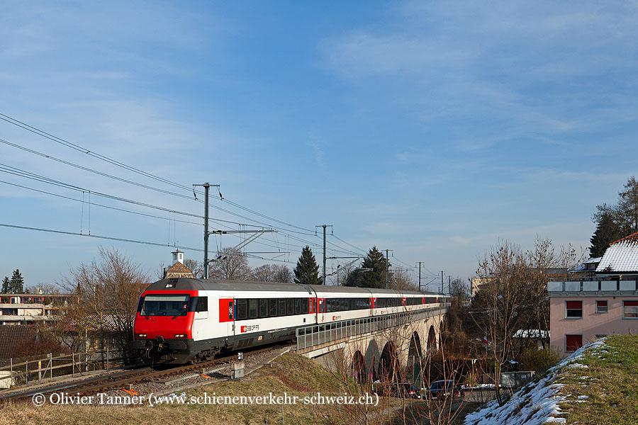 Einheitswagen IV Pendelzug als IR Zürich – Konstanz