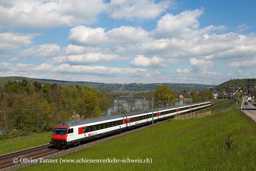 Einheitswagen IV Pendelzug als IR Zürich – Bern