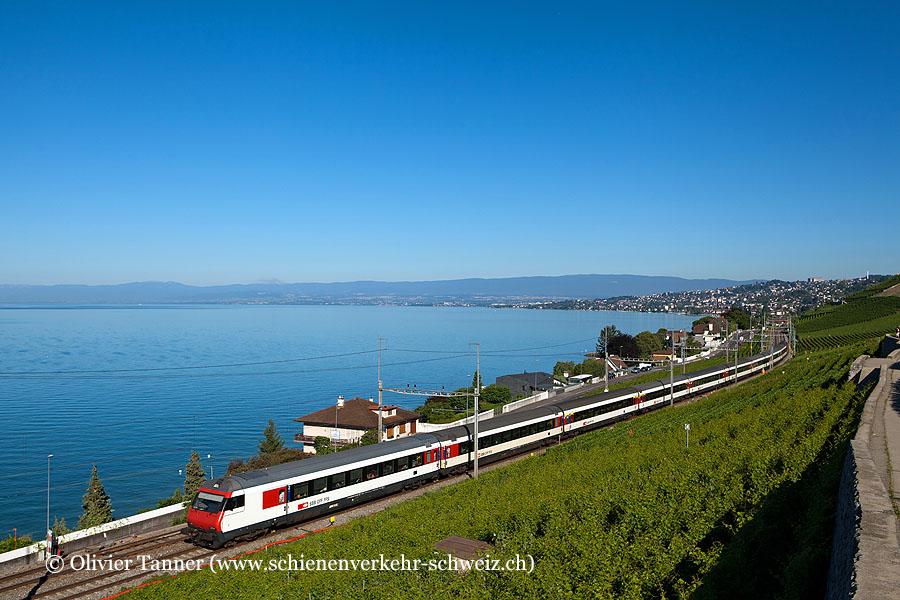 Einheitswagen IV Pendelzug als IR Genève Aéroport – Brig