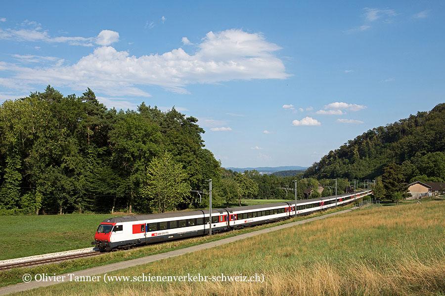 Einheitswagen IV Pendelzug als IC6 Domodossola – Brig – Bern – Basel