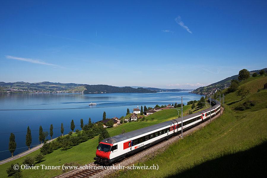 Einheitswagen IV Pendelzug als IR46 Zürich – Erstfeld