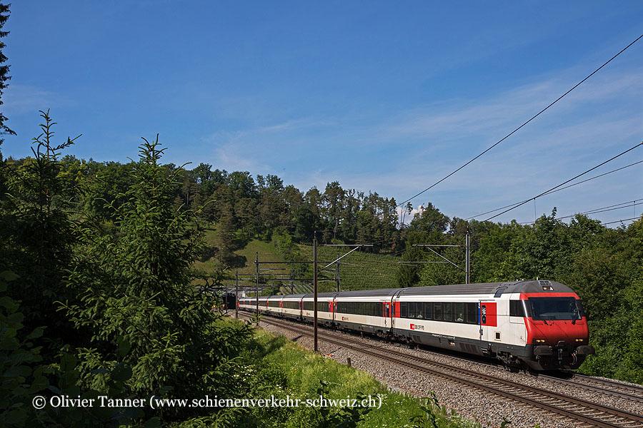 Einheitswagen IV Pendelzug als IR36 Zürich – Basel
