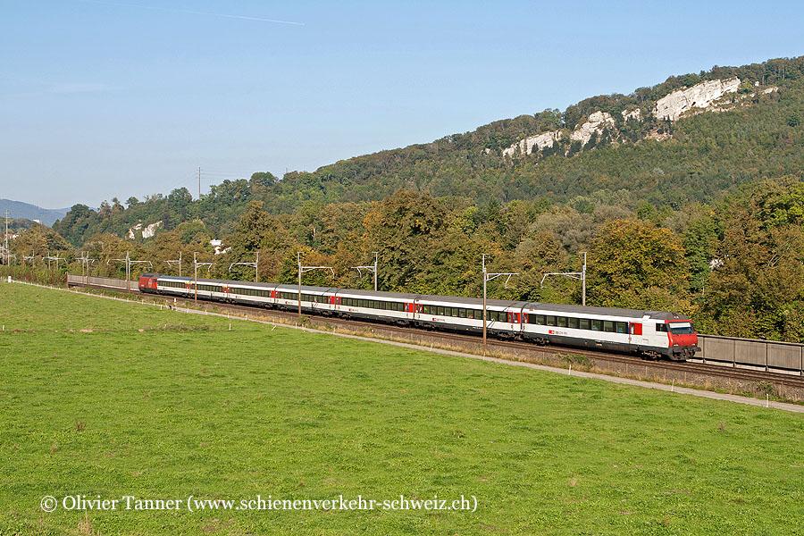 Einheitswagen IV Pendelzug als IR Schaffhausen – Zürich – Bern