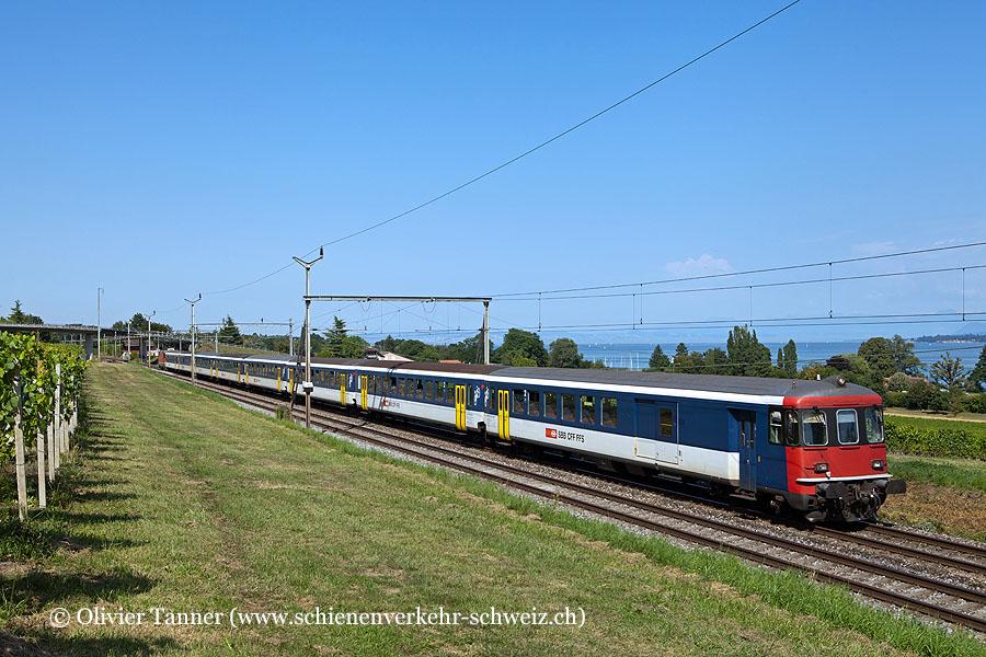 EW I BDt und Re 4/4'' 11122 als RE Lausanne – Genève