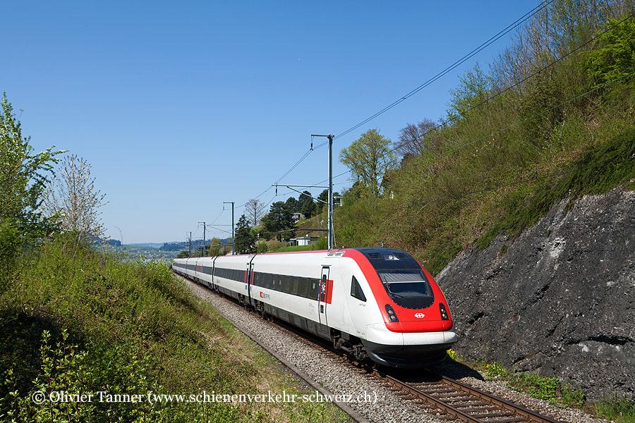 RABDe 500 001 als ICN Zürich – Lugano