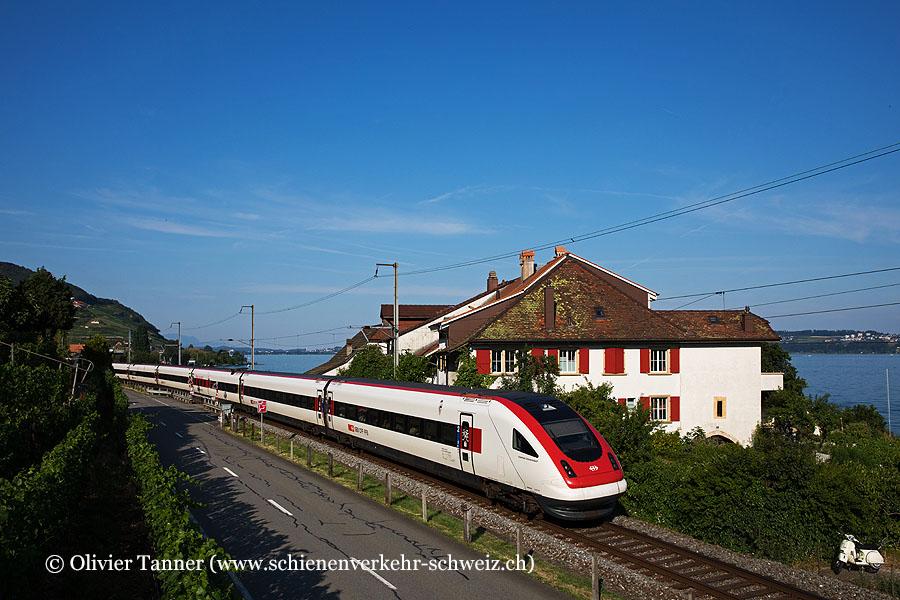 RABDe 500 002 als IC5 Zürich – Genève-Aéroport