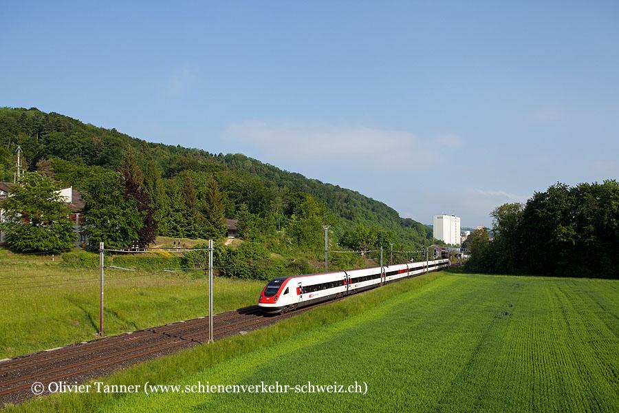 RABDe 500 004 als ICN St. Gallen – Zürich – Lausanne