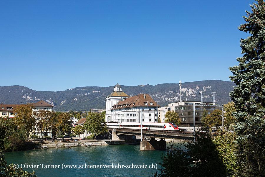 RABDe 500 005 als IC5 Lausanne – Zürich – St. Gallen