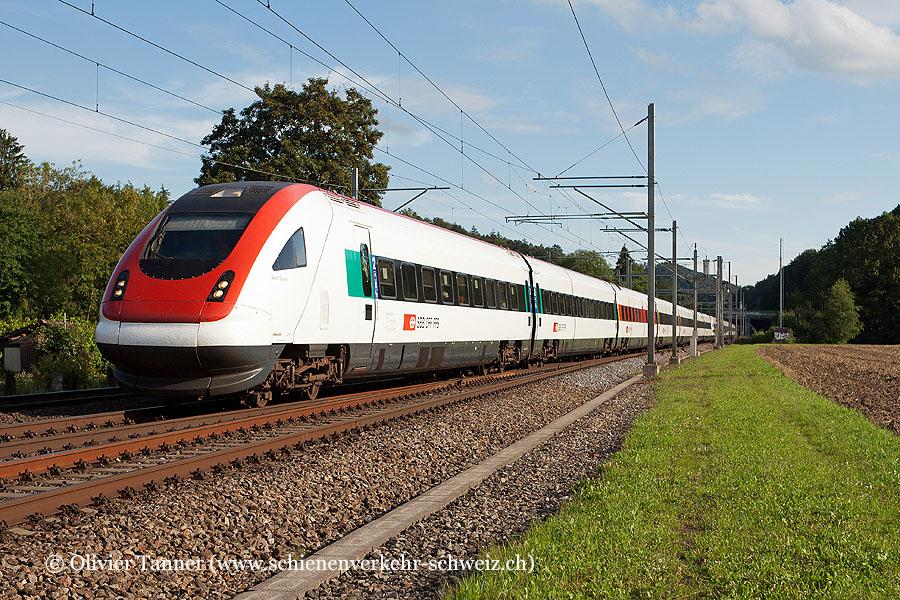 RABDe 500 007 und RABDe 500 030 als ICN Lausanne – Zürich – St. Gallen