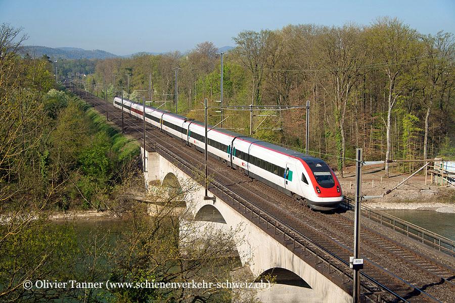 RABDe 500 010 als IR Basel – Zürich Flughafen