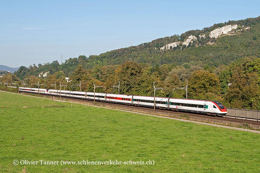 RABDe 500 013 und RABDe 500 034 als ICN St. Gallen – Zürich – Genève-Aéroport