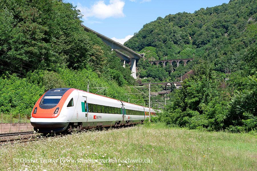 RABDe 500 014 als ICN Basel – Luzern – Lugano