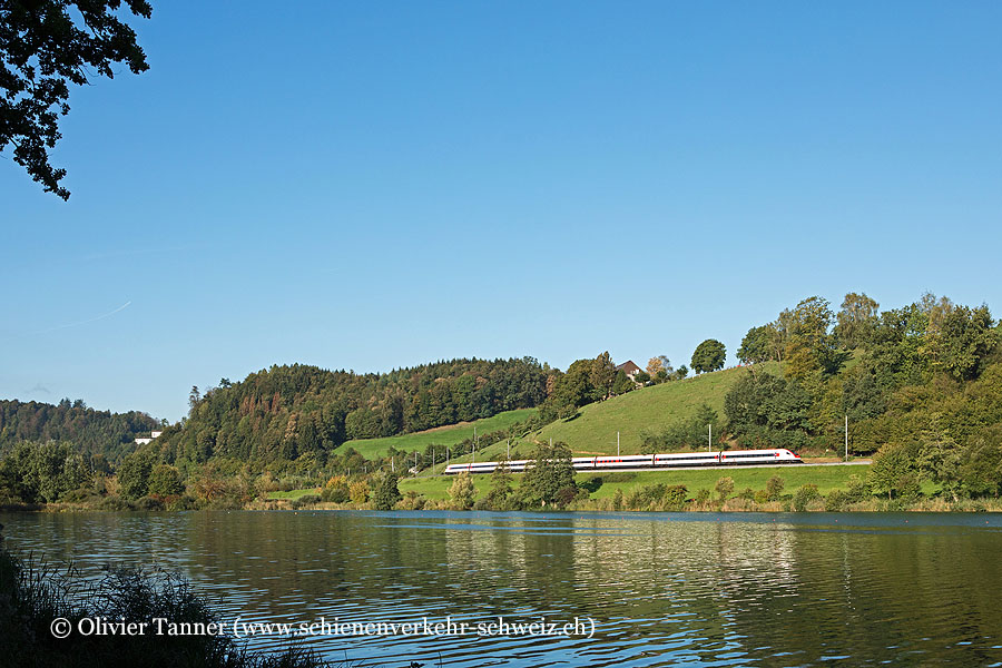 RABDe 500 014 als IC21 Chiasso – Luzern – Basel