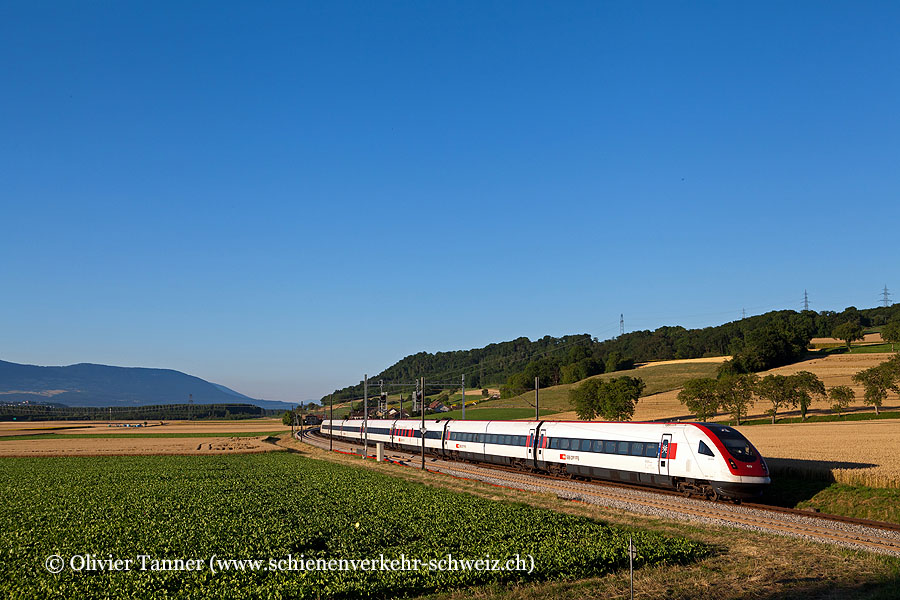 RABDe 500 018 als ICN Zürich – Genève-Aéroport