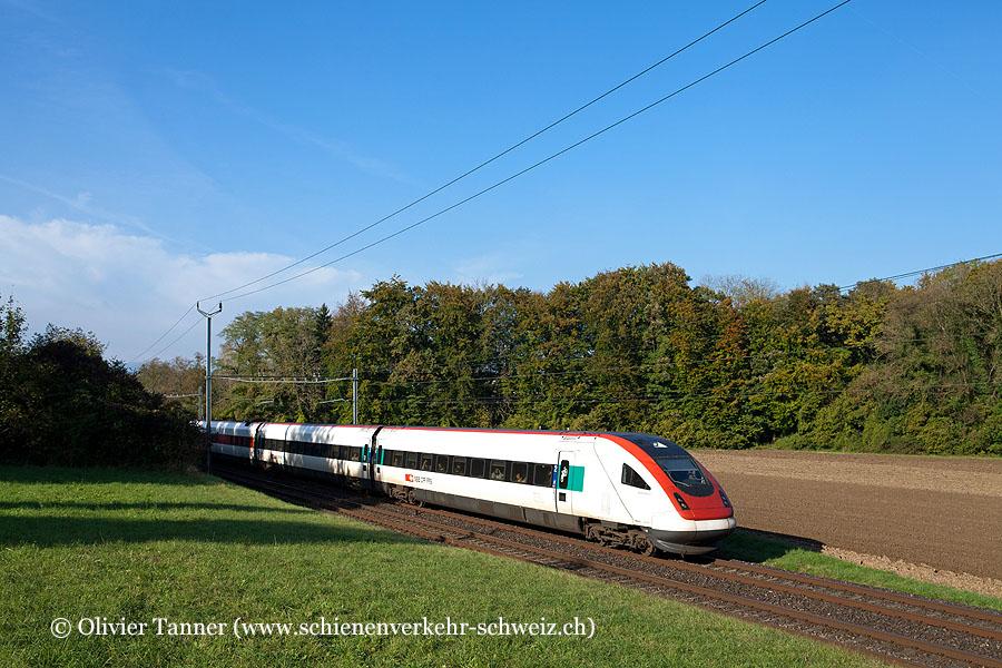 RABDe 500 020 als ICN Basel – Lausanne