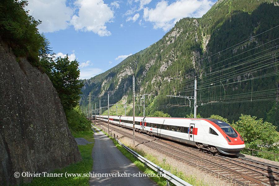 RABDe 500 022 als ICN Zürich – Lugano
