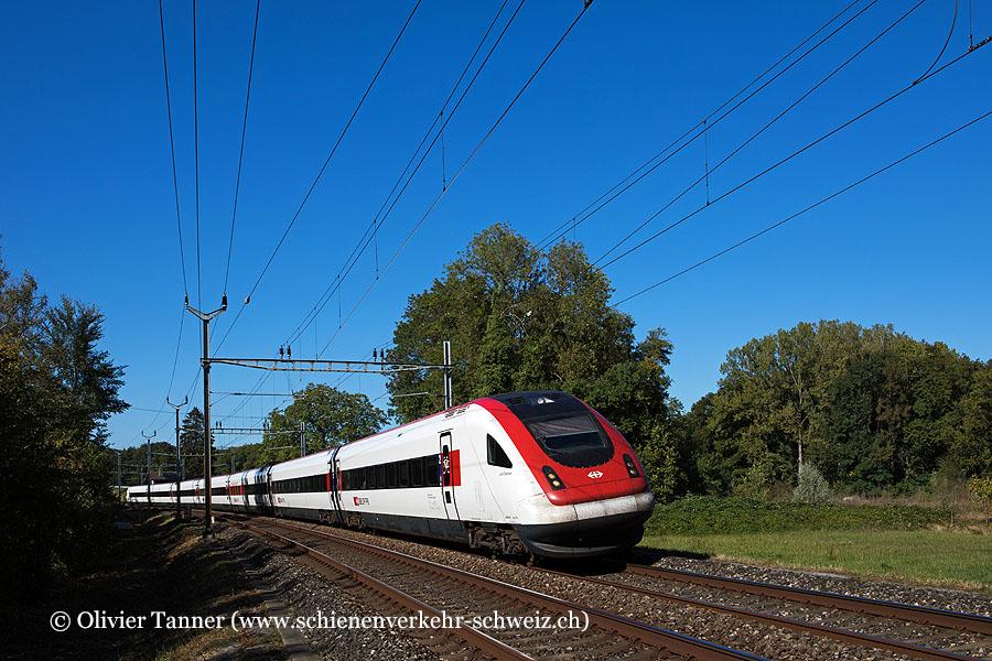 RABDe 500 030 als IC5 Zürich – Genève-Aéroport