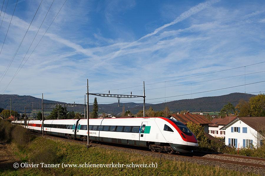RABDe 500 032 als ICN Basel – Genève-Aéroport