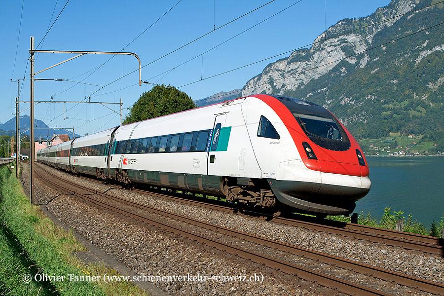 RABDe 500 040 als IC Zürich – Chur