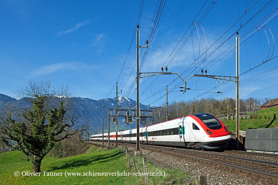 RABDe 500 040 als IR Zürich – Chiasso