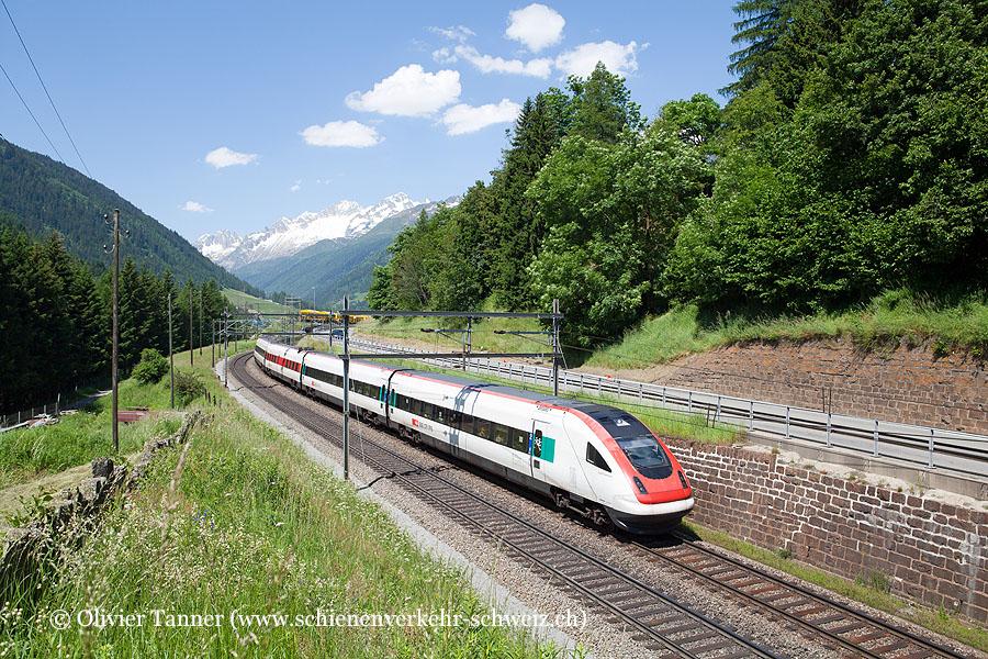 RABDe 500 043 als ICN Basel – Luzern – Lugano