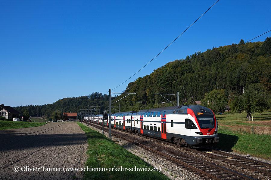 RABe 511 015 und RABe 511 109 als IR17 Zürich – Bern