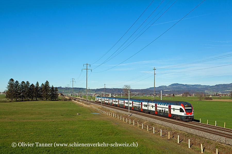 RABe 511 015 als RE Zürich – Chur